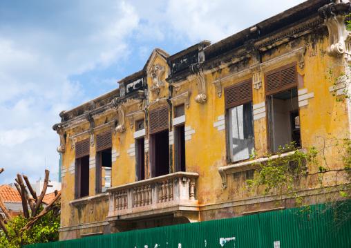 Old portuguese colonial building, Luanda Province, Luanda, Angola