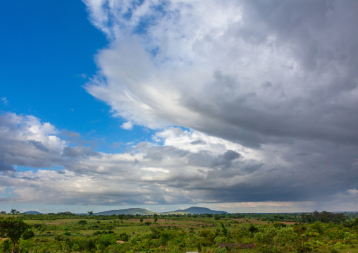 Clouds over the countryside, Huila Province, Lubango, Angola