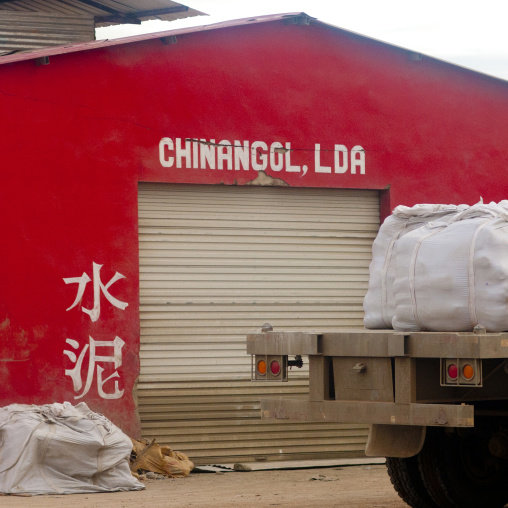 Chinese Shop In Huambo, Angola
