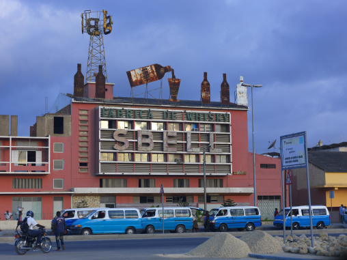 Whisky Factory In Lobito, Angola