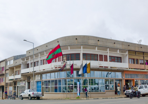 Headquarters Of Unita In Huambo, Angola