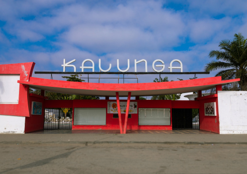 Kalunga art deco cinema theatre tuned into a discotheque, Benguela Province, Benguela, Angola