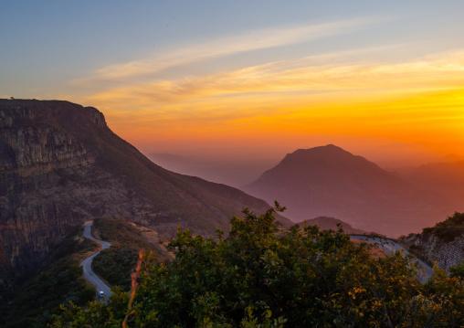 Sunset on tundavala, Huila Province, Lubango, Angola