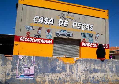 Cars spare parts store, Huila Province, Lubango, Angola