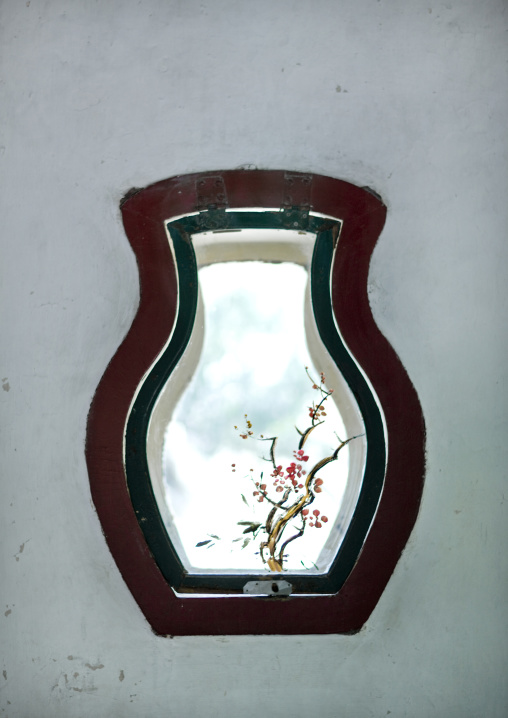 Window With Special Shape In Summer Palace, Beijing, China