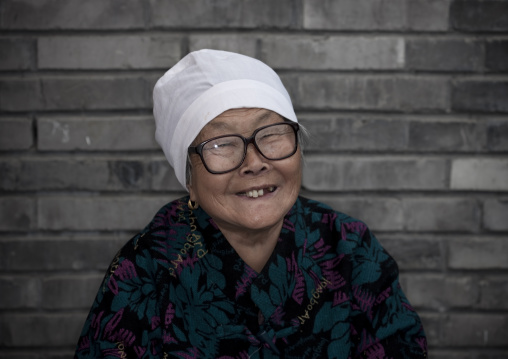 Old Woman In A Hutong, Beijing China