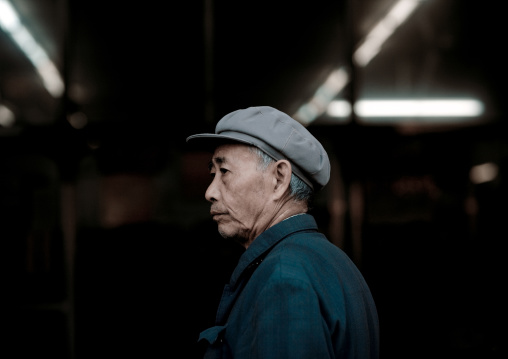 Chinese Man With A Cap, Beijing China