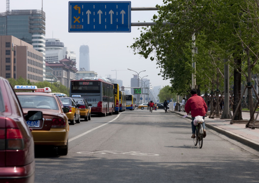 Bicycle Lane, Beijing, China