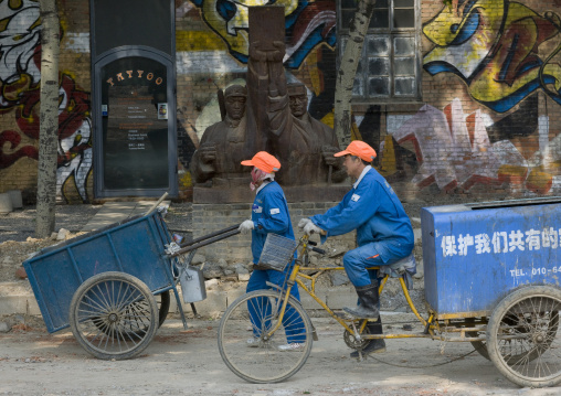 Workers At 798 Art Center, Beijing , China