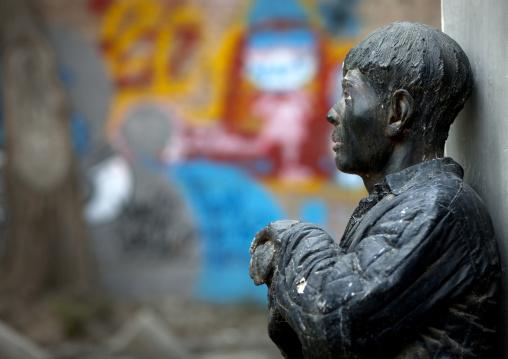 Statue At 798 Art Center, Beijing , China