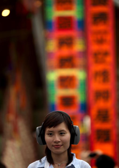 Journalist In She Huo, Cheung Chau, Hong Kong, China