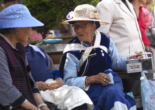 Naxi Minority Women, Lijiang, Yunnan Province, China