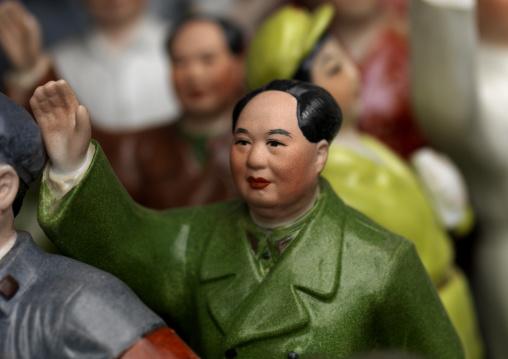 Mao Tse Tung Ornament For Sale In Panjiayuan Antique Market, South Chaoyang. Beijing, China