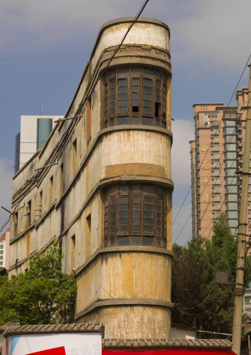 Art Deco Building In Kunming, Yunnan Province, China