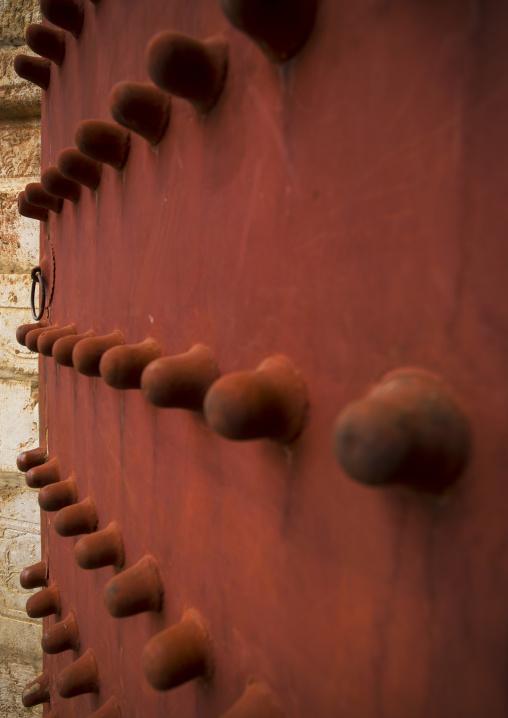 Confucius Temple Red Door, Jianshui, Yunnan Province, China