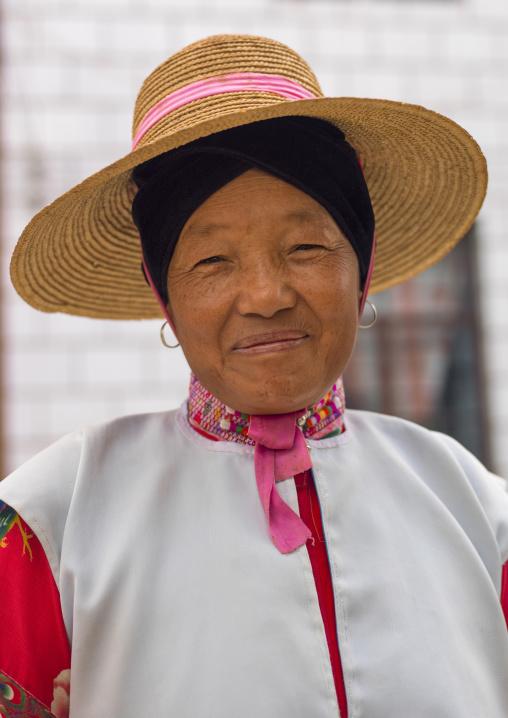 Mongolian Minority Woman, Tong Hai, Yunnan Province, China