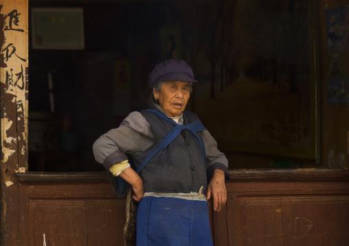 Naxi Minority Woman, Lijiang, Yunnan Province, China