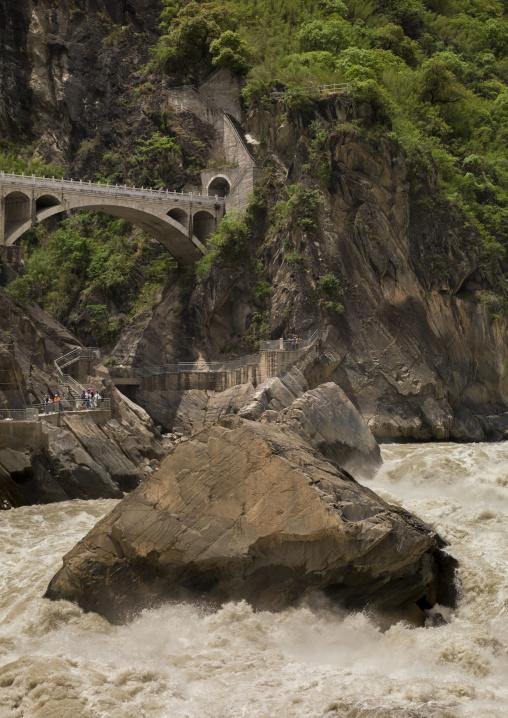 Tiger Leaping Gorge And Jinsha River, Lijiang, Yunnan Province, China