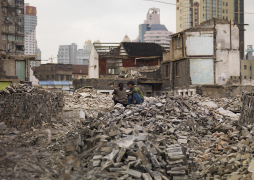 Demolition Site, Shangai, China