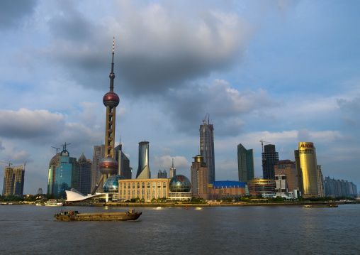 Jinmao Tower And Oriental Pearl Tower, Shanghai, China