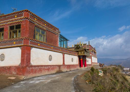 Shachong monastery, Qinghai Province, Wayaotai, China