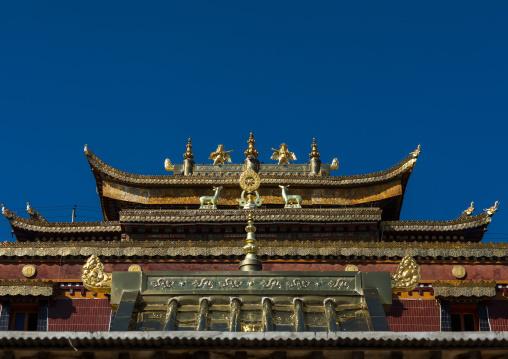 Rongwo monastery temple, Tongren County, Longwu, China