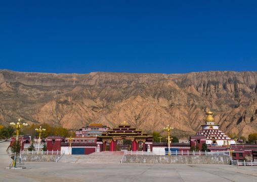 Village where born Choekyi Gyaltsen the 10th panchen lama, Qinghai Province, Gonpo Tseten, China