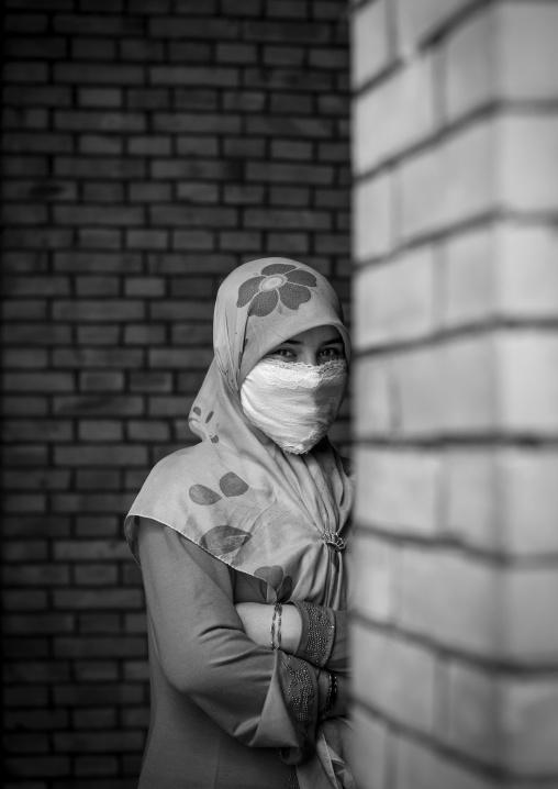 Young Uyghur Woman, Keriya, Xinjiang Uyghur Autonomous Region, China