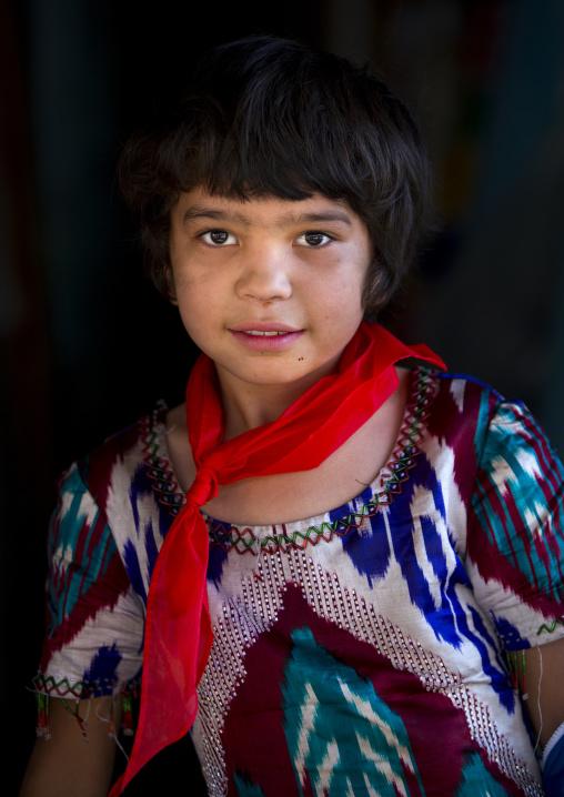Uyghur Pioneer Girl, Yarkandxinjiang Uyghur Autonomous Region, China
