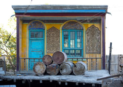 Old Uyghur Painted House, Yarkand, Xinjiang Uyghur Autonomous Region, China