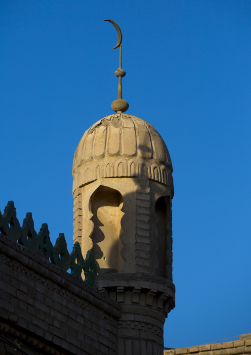 Mosque in the Old Town Of Kashgar, Xinjiang Uyghur Autonomous Region, China