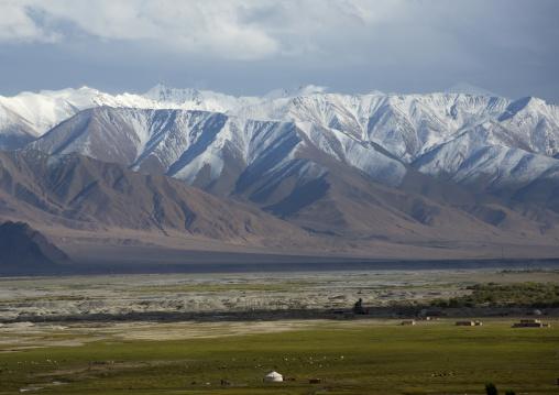 view from Tashkurgan Fort, Tashkurgan, Xinjiang Uyghur Autonomous Region, China