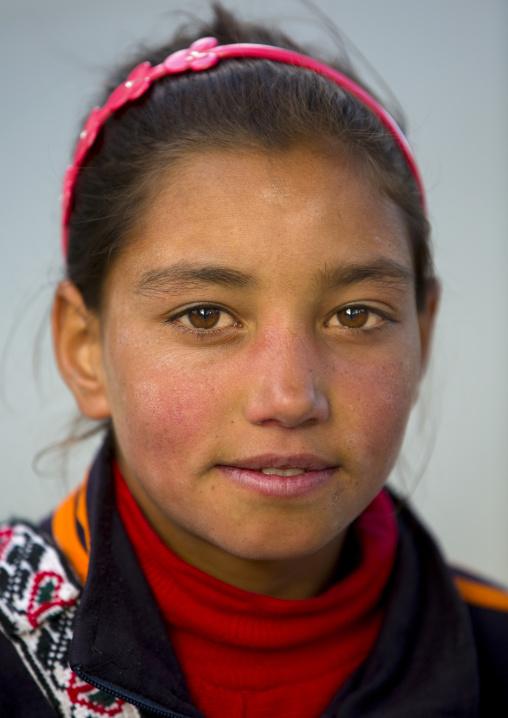 Tajik girl, Xinjiang Uyghur Autonomous Region, China