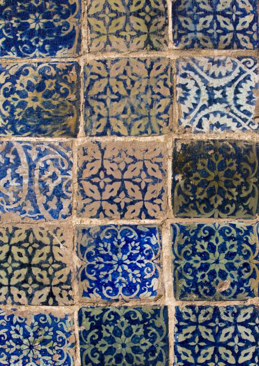 Detail In Abakh Hoja Tomb, Burial Place Of Muhatum Ajam, Kashgar, Xinjiang Uyghur Autonomous Region, China