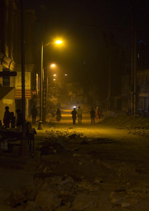 Old Town Of Kashgar at night, Xinjiang Uyghur Autonomous Region, China