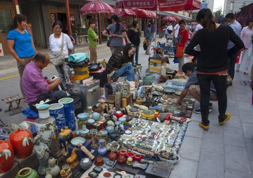 Panjiayuan Antique Market, South Chaoyang. Beijing, China