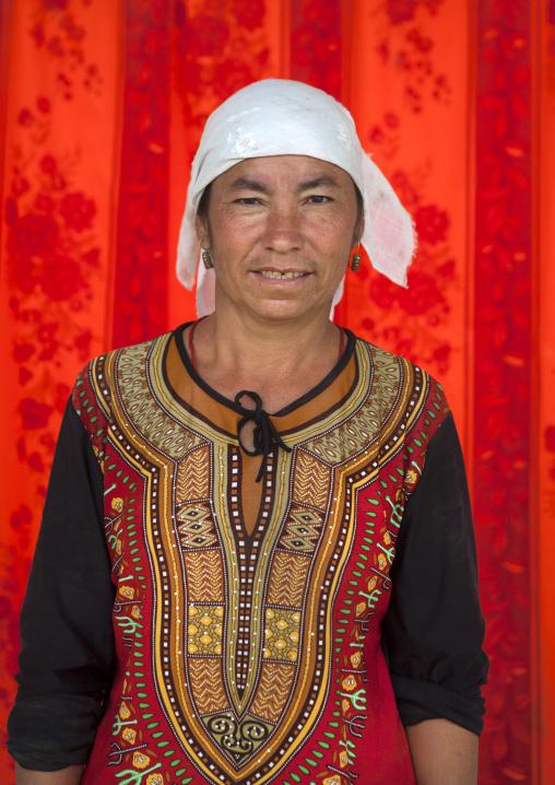 Uyghur Cotton Producer, Hotan, Xinjiang Uyghur Autonomous Region, China