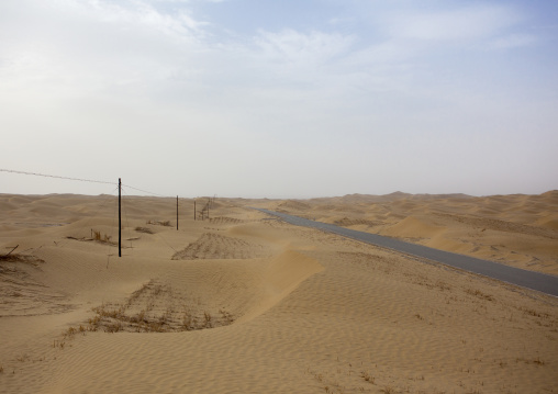Taklamakan Desert Xinjiang, China, Xinjiang Uyghur Autonomous Region, China