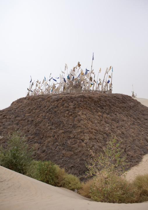Imam Asim Tomb In The Taklamakan Desert, Xinjiang Uyghur Autonomous Region, China