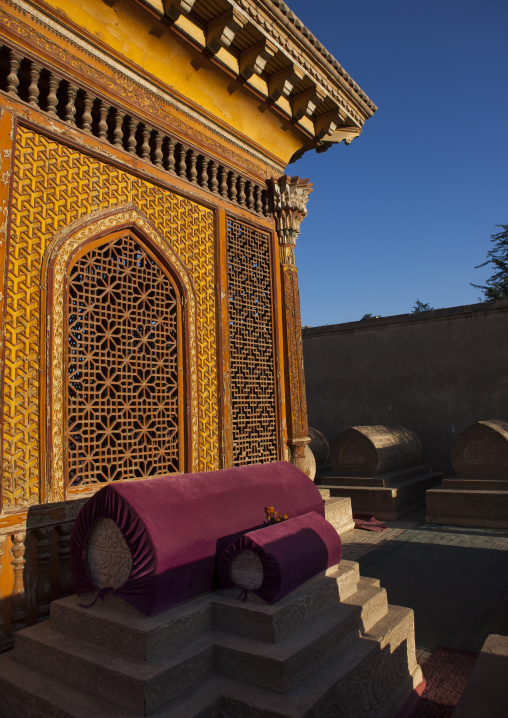 Sultan Saiyidhan Tomb In Yarkand, Xinjiang Uyghur Autonomous Region, China