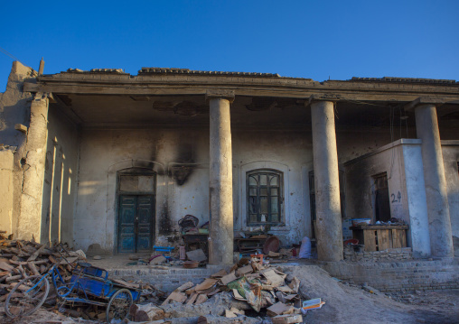 Ruins of an Old Uyghur House, Yarkand, Xinjiang Uyghur Autonomous Region, China