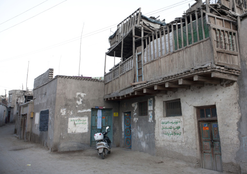Old Uyghur House, Yarkand,  Xinjiang Uyghur Autonomous Region, China
