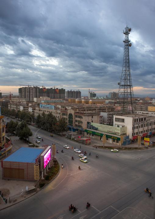 View Of Yarkand From Above, Xinjiang Uyghur Autonomous Region, China