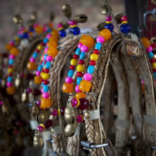 Decorations For Horses, Serik Buya Market, Yarkand, Xinjiang Uyghur Autonomous Region, China