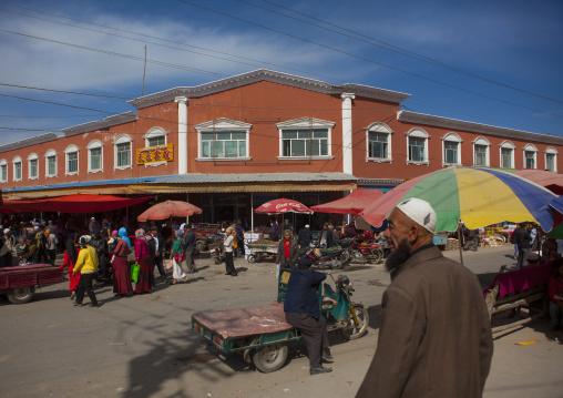Serik Buya Market, Yarkand, Xinjiang Uyghur Autonomous Region, China