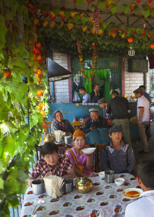 Restaurant In Serik Buya Market, Yarkand, Xinjiang Uyghur Autonomous Region, China
