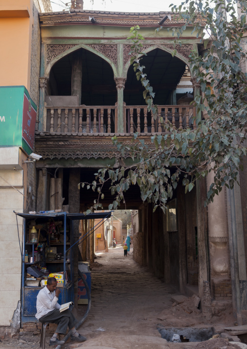 Old Town, Kashgar, Xinjiang Uyghur Autonomous Region, China
