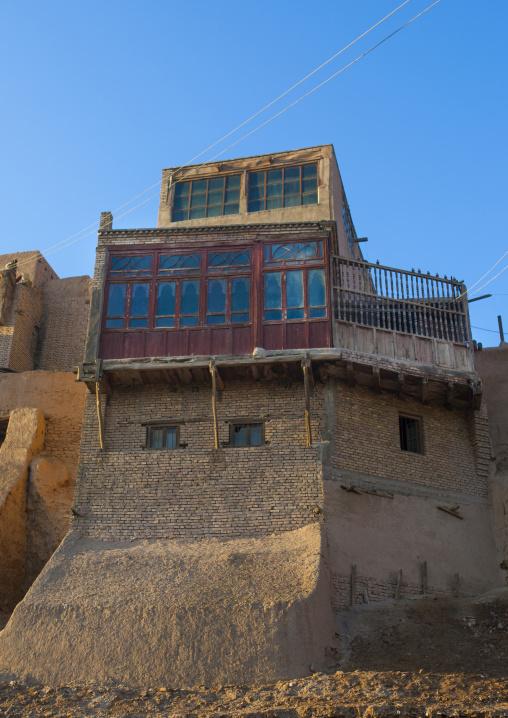 Kashgar old town ramparts, Xinjiang Uyghur Autonomous Region, China