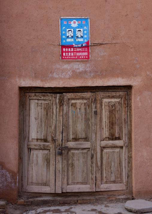 Wanted People Sign, Old Town Of Kashgar, Xinjiang Uyghur Autonomous Region, China