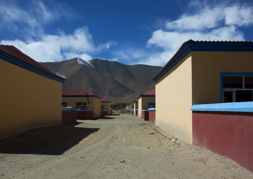 New Village For Kyrgyz People Near Karakul Lake, Xinjiang Uyghur Autonomous Region, China